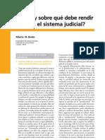 Binder Sobre Reforma Judicial