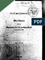 H.Dv.481-31 Merkblatt für die Munition der 15 cm Kanone 18 - 01.06.1940