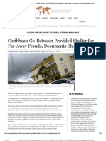 Caribbean Go-Between Provided Shelter for Far-Away Frauds, Documents Show