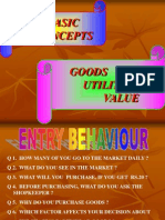 goods, value & utility