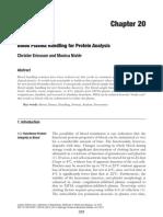 Blood Plasma Handling for Protein Analysis