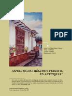 Federalismo en Antioquia
