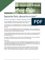 Application Kata Newsletterverteiler