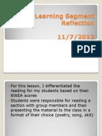TPA Task Reflection