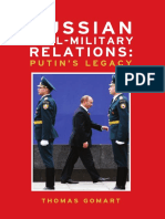 Russian Civil-Military Relations