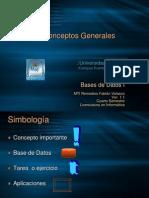 17392694 Bases de Datos I Tema I Conceptos Generales