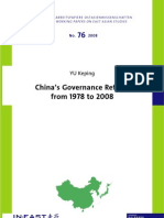 YU Keping China's Governance Reform from 1978 to 2008.pdf