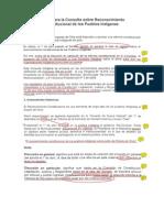 Chile Mideplan Guia para  Consulta Indígena Reforma Constitucional Abril2009
