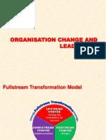 Organisation change, leadership