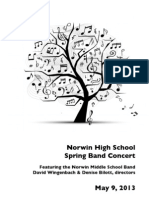 Norwin H.S.& M.S. Combined Band Concert May 2013