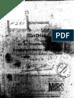 H.Dv.481-73 Merkblatt für die Munition der 3,7 cm Panzerabwehrkanone - 29.01.1938