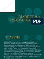 Diabetes y Fisiopatologia