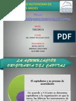 La Acumulacion Originaria Del Capital