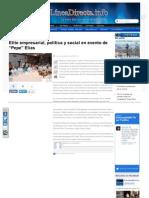 19-05-2013 Elite empresarial, política y social en evento de 'Pepe' Elías
