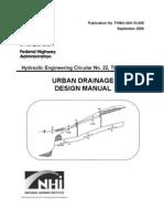Urban Drainage Design Guide
