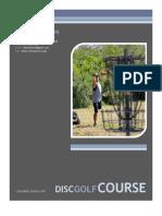 2013 CE Volunteer Day - Disc Golf Proposal