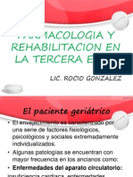 farmacologia y rehabilitacion del adulto mayor