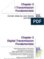 3. Digital Transmission Fundamentals