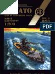 Halinski Model Kartonowy 1993-08 - Battleship Ijn Yamato