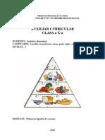 Auxiliar Curricular - Gheorghiu M - Obtinerea Laptelui de Consum Cls X