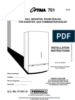 Saunier duval isofast f28e installation repair service manual.