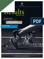 Vontobel Holding AG  Annual Report 2011