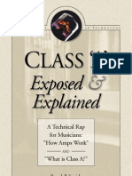 MESA Class A Booklet