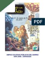Proyecto Escuela Abierta 2013