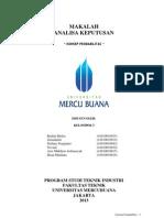Konsep Probabilitas-Analisa Keputusan Mei 2013,Rudini Mulya,Dkk