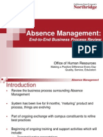 Absence Managment