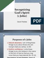 11 Recognizing Gods Spirit (1 John)