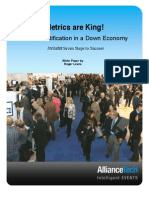 Metrics Are King! White Paper by Roger Lewis