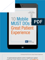 eBook Patient Experience