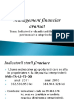 Management Financiar Avansat