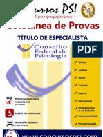 Coletanea Titulo de Especialista Cfp 1