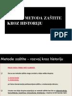 4 Razvoj Metoda Zastite Kroz Historiju