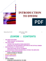 Dwdm Introduction