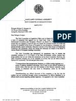 Dismissed Ethics Complaint
