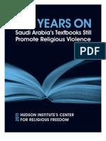 Violence in Saudi Textbooks 2011 Final
