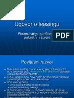 Ugo Voro Leasing u