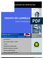 ENSAYO DE ALBAÑILERIA