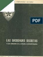 Fernández Álvarez, Manuel - Las Sociedades Secretas