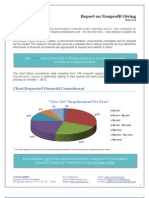 BoardAssist Report on Nonprofit Giving May 2013