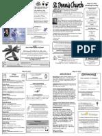 May 19 Bulletin