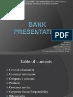 Bank Presentation ICBC