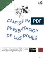 Cantoral Presentacion de los dones 2011 - 2012_www.pjcweb.org.pdf