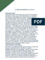 El Guión Documental por Patricio Guzmán