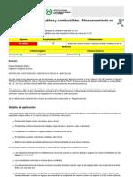 NTP 9 - Líquidos inflamables y combustibles. Almacenamiento en recipientes móviles