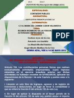 Expo Del Regimen de Actividad Profesional Intermedio