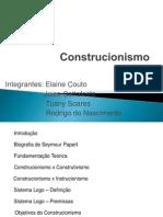 Apresentação Trabalho Construcionismo